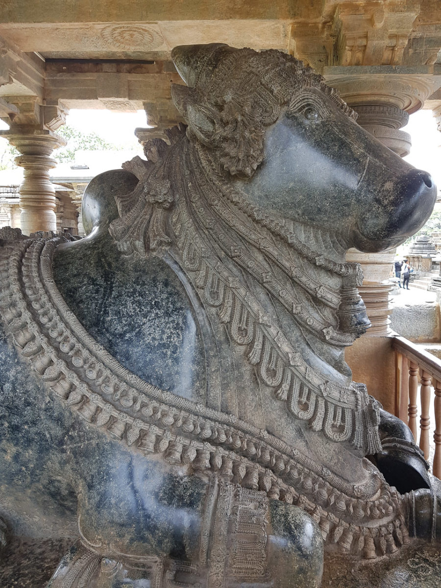 Sculpture of Nandi