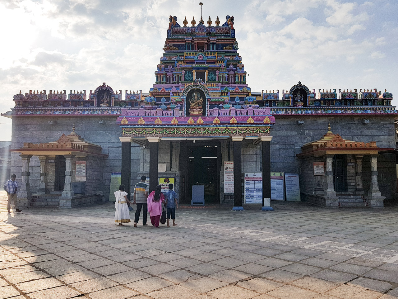 Temple inside Sringeri temple