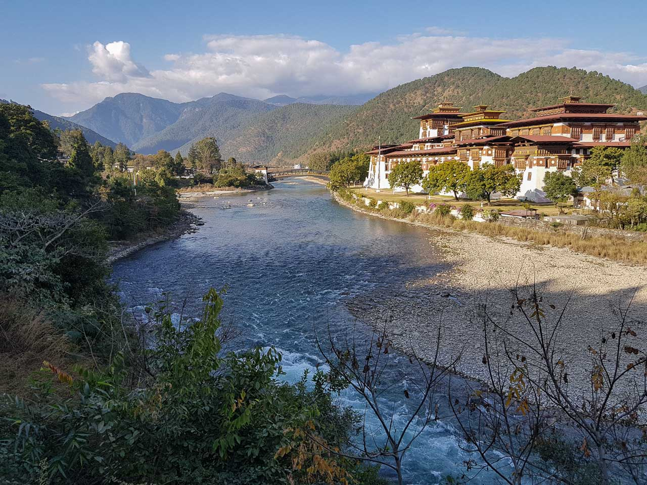 The Punakha Dzong