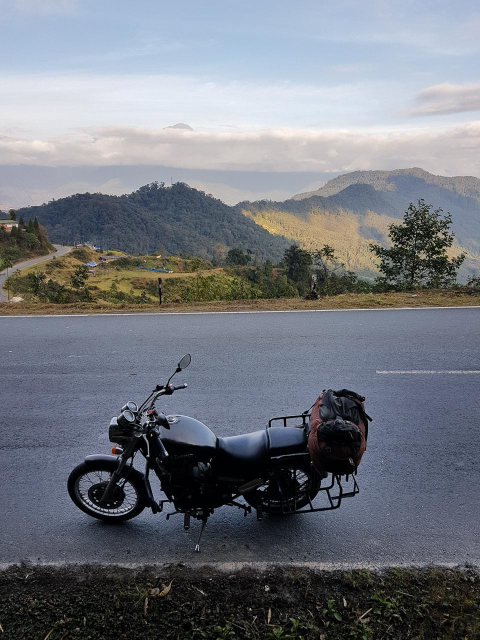 Somewhere between Phuentsholing and Thimphu. The road are views are both just as good in this picture the whole way